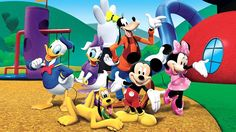 Disney Jr TV Trivia Try and guess the Disney Jr TV show theme songs. Try and guess what popular Disney Jr show goes along with each song. Disney Junior, Disney Jr, Disney Films, Disney Characters, Mickey Minnie Mouse, Mickey Mouse E Amigos, Mickey Mouse And Friends, Mickey Party, Wallpaper Do Mickey Mouse