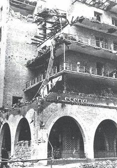 La casa de las flores (Chamberí), durante la guerra civil.