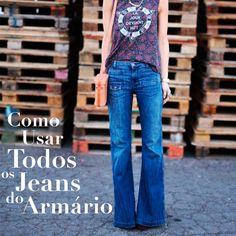 Como Usar Todos os Jeans do Armário #denim #jeans #flare