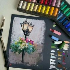 59 ideas beautiful art drawings inspiration artworks chalk pastels for 2019 Chalk Pastel Art, Soft Pastel Art, Chalk Pastels, Chalk Art, Oil Pastels, Soft Pastel Drawings, Pinturas Color Pastel, Art Techniques, Watercolor Techniques
