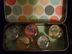 """""""Wonderfully Made"""": Marble Magnets & Tin PLUS a GIVEAWAY!"""
