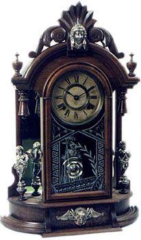 Triumph by Ansonia Clock Co., New York, NY ca. 1880 - 1900s