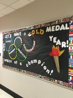 Habits of a Champion Image Best Picture For Inclusive education posters bul Sports Bulletin Boards, Sports Theme Classroom, Classroom Bulletin Boards, Sports Classroom Decorations, Olympic Idea, Olympic Games, Elementary Pe, Team Theme, Inclusive Education