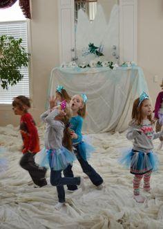 Freeze dancing game