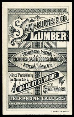 Check this site for a seemingly never-ending plethora of vintage typography