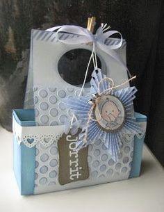 Creaties met Papicolor papier: Babyblauw