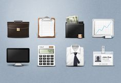 Free Executive Business Icons