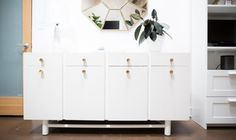 Upcycl'd: Two-Tone Painted Sideboard