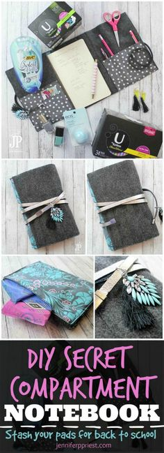 DIY Secret Compartment Notebook