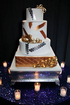 Dubsdread Ballroom: Savoy Photo Shoot, Tab McCausland Photography, Party Flavors Custom Cakes.
