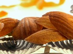 Brown Butter Madeleines from FoodNetwork.com ---Recipe courtesy Melissa d'Arabian