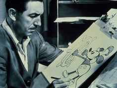 mickey mouse's debut animation. This picture is iconic.