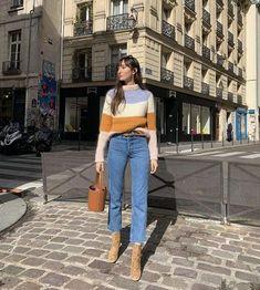Parisian Chic Style, Paris Chic, Paris Outfits, Fall Outfits, French Outfit, French Chic Outfits, French Street Fashion, Girl Fashion, Fashion Outfits
