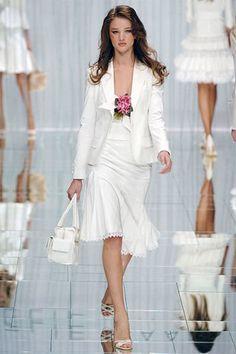 Elie Saab Spring 2006 Ready-to-Wear Fashion Show - Rosie Huntington-Whiteley (IMG)