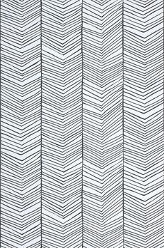 Herringbone | Papier peint graphique | Autres papiers peints | Papier peint des années 70
