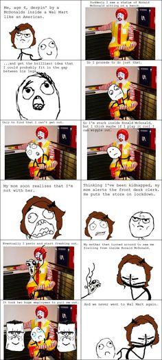 Ronald Mcdonald Rage
