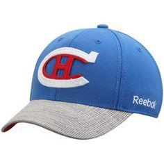 Men's Montreal Canadiens Reebok Blue/Gray 2016 Winter Classic Coaches Flex Hat