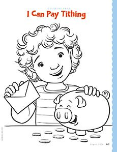 Coloring Page Lds Church Lds Coloring Pages Lds Primary