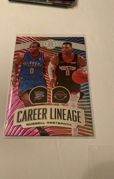 2020 nba illusion #5 Russel Westbrook Career Lineage Card Will be shipped with care ! Tags: Mavs Dallas NBA ZION KD LEBRON JORDAN SHAQ JA ROOKIES HOLO HOOPS NBA WARRIORS LAKERS CLIPPERS ROCKETS THUNDER MVP Panini Optic Donruss Mosaic Rc rookie Lebron Jordan, Nba Warriors, Nba Sports, Lineage, Rockets, Thunder, Illusions, Dallas, Badge