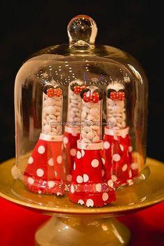 Tubetes Festa Minnie Vermelha da Maria Clara