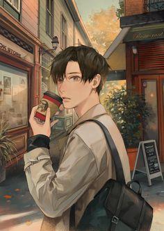 Anime Boys, Cool Anime Guys, Handsome Anime Guys, Cute Anime Boy, Anime Art Girl, Manga Art, Manga Anime, Anime Boy Zeichnung, 8bit Art
