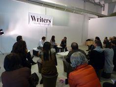 «L'ora dell'esordiente» in sala Cubetto: gli scrittori Daniele Bresciani ed Emanuela Abbadessa dialogano con Marta Perego