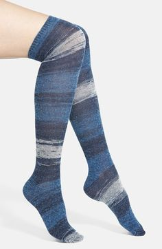 Free shipping and returns on LEMON 'Mystic' Over The Knee Socks at Nordstrom.com. Ombré stripes color supersoft and stretchy socks styled in a versatile over-the-knee length.
