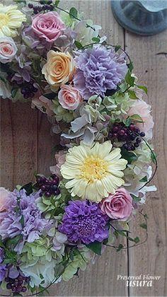 Flower Wreath『ボンヴィヴォン』