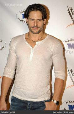 joe manganiello- what can't i say about him  1. He's not short  2. He's not ugly  3. He better be People's 2013 sexiest man