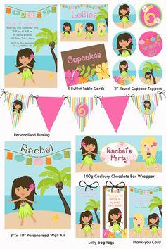 Aloha Party Printable