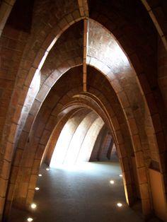 La Pedrera inner arches 6
