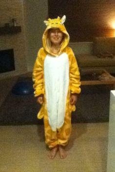 Giraffe pj girl