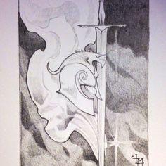 #jrrtolkien #childrenofhurin #dragon #helm#illustration #pencildrawing #sketchbook #art #tolkien #blackandwhite #turin