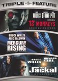 12 Monkeys/Mercury Rising/The Jackal [3 Discs] [DVD]