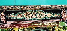 Closeup of Vardo decoration by Tom Stevenson