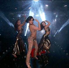 "Dancing With the Stars  -  Val Chmerkovskiy & Rumor Wills danced a salsa routine to Gloria Estefan's ""Turn the Beat Around""  -   Season 20  -  Week 3  -  Spring 2015  -  score - 8+9+8+8 = 33"
