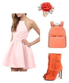 """tyj"" by mironcheva1997 on Polyvore featuring мода, Gucci, Valentino и Mawi"