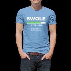 """Swole"" Men's Tees & Tanks"