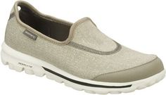 "Women's Skechers Walking Shoes ""Go Walk"" - Gray: Shoes. Details at http://youzones.com/womens-skechers-walking-shoes-go-walk-gray-10-gray/"