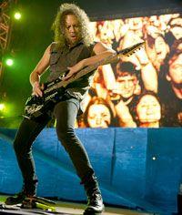 kirk hammett - lead guitarist for Metallica
