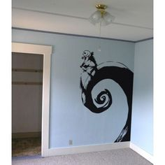 Jack Skellington Nightmare Before Christmas Wall Art Decor D ...