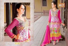 As per the demand of the customers and latest #fashion, we are providing an extensive array of Designer #Salwar #Suit. Attractive designs and various patterns from #MLT #Suits.