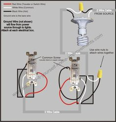 3 way switch wiring diagram > power to switch then from that 3 way switch wiring diagram
