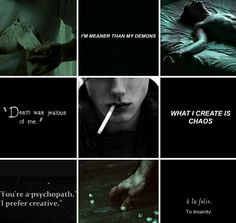 Tom Riddle aesthetic