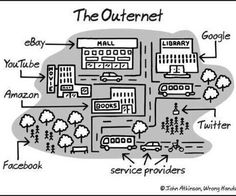 When I was a boy we had the Outernet.