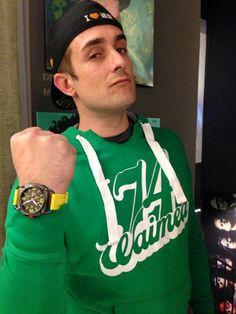 Federico Sceriffo, campione di drifting, testimonial Evolo Watches Milano