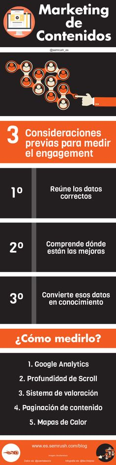 MARKETING DE CONTENIDOS: CÓMO MEDIR #INFOGRAFIA #INFOGRAPHIC #MARKETING