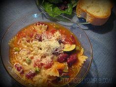 Emergency Dinner: Easy Minestrone Soup