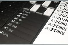 Aizone Identity by Jessica Walsh, via Behance