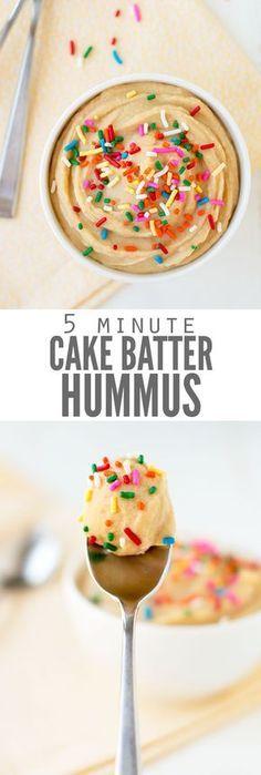 This cake batter hum